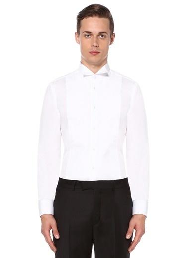 Beymen Club Klasik Gömlek Beyaz